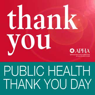 Public Health Thank You Day